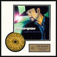 1019: TIM MCGRAW ''A Place in the Sun'' Gold CD