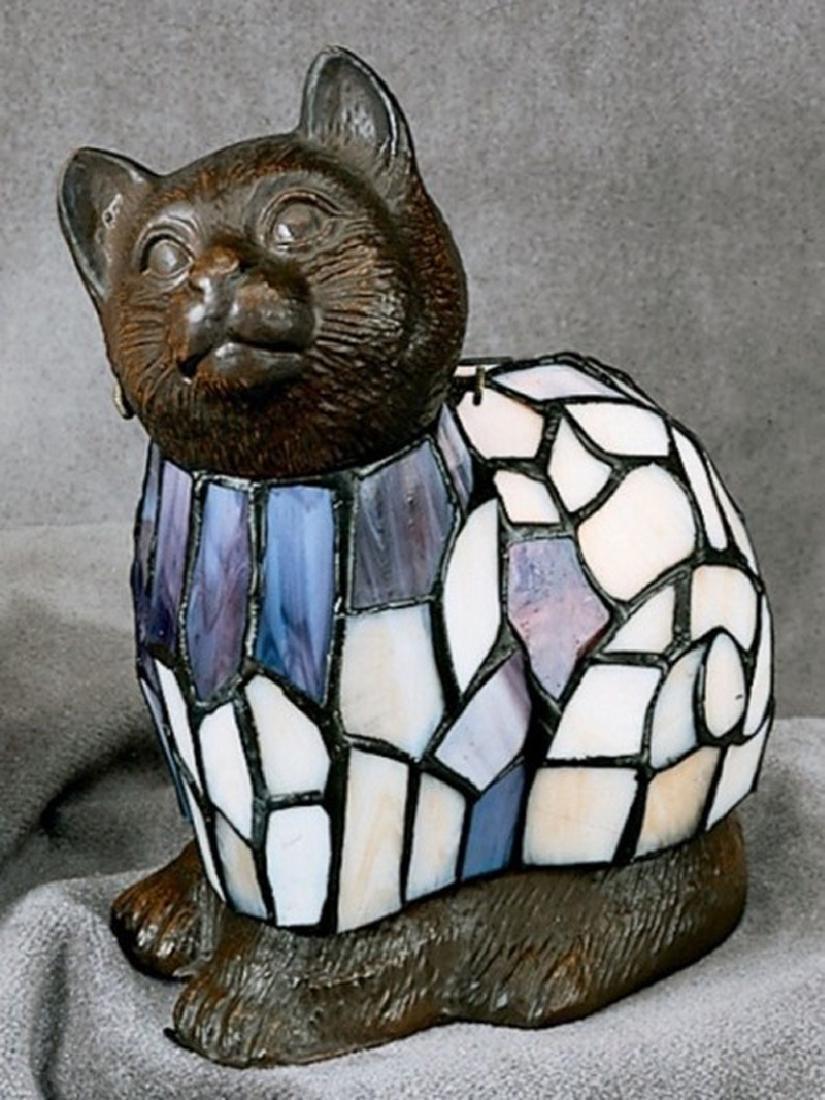 Cat Amber Lamp