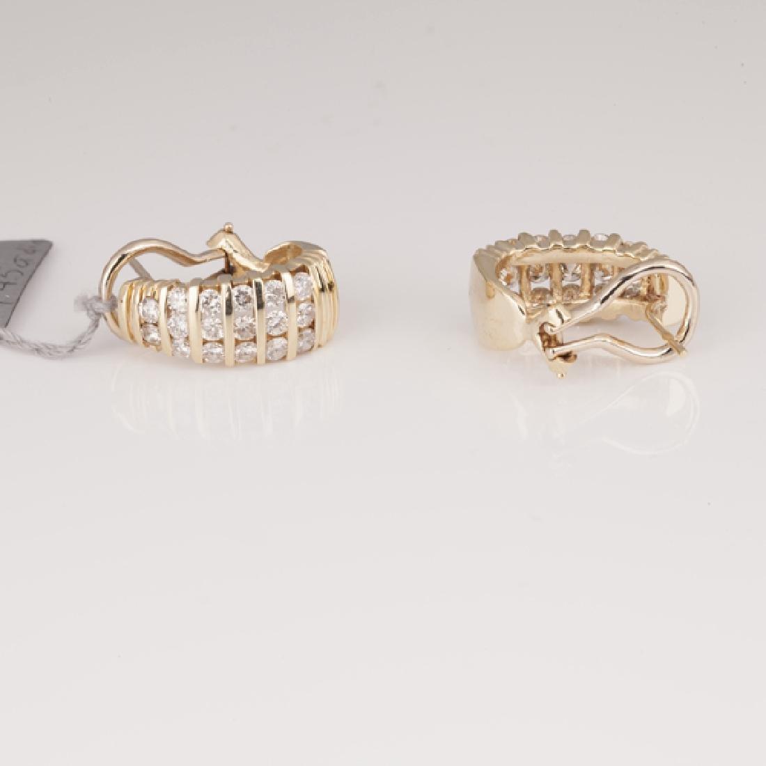 *Fine Jewelry 14 kt. Gold, New Custom Made 1.45CT