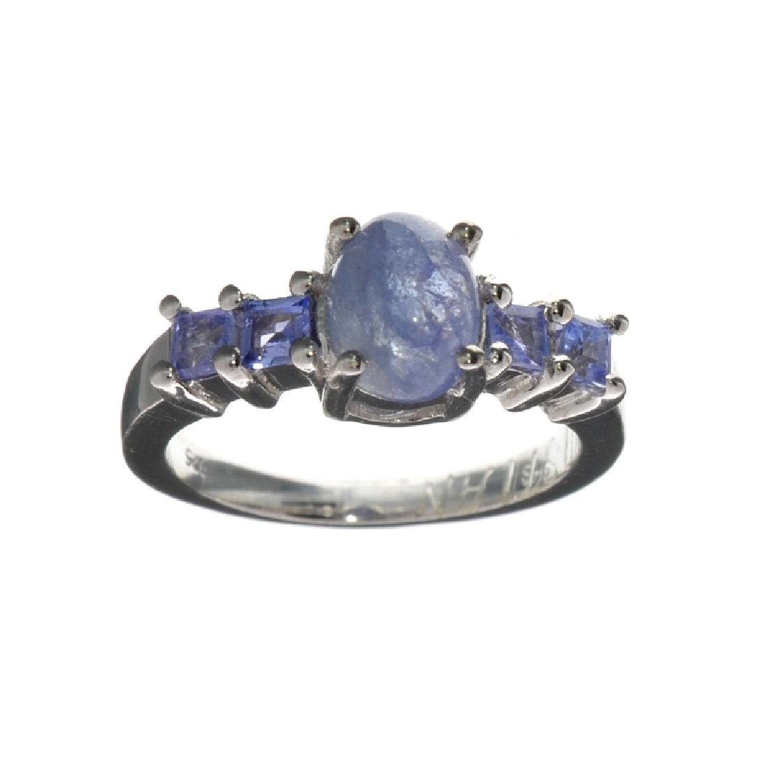 APP: 2.8k Fine Jewelry 2.97CT Violet Blue Tanzanite And