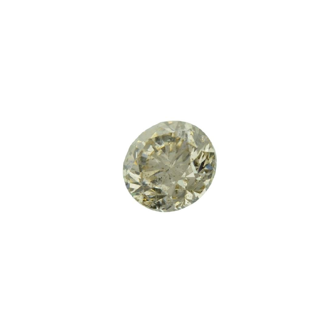 Fine Jewelry GIA Certified 0.81CT Brilliant Round Cut