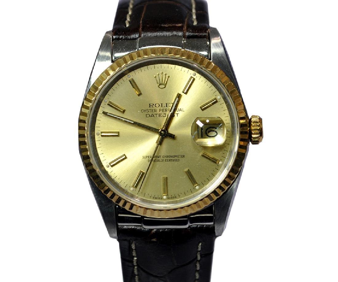 *Rolex 16233 Oyster Perpetual DateJust Superlative