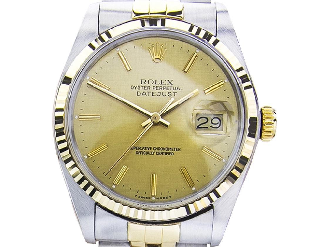 *Men's Rolex 16013 Quickset 18K Automatic With Original