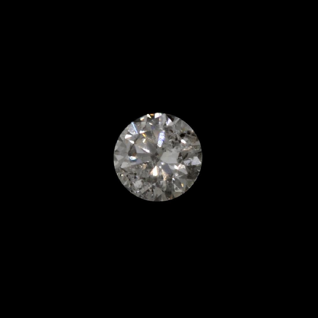 Fine Jewelry GIA Certified 0.25CT Round Brilliant Cut