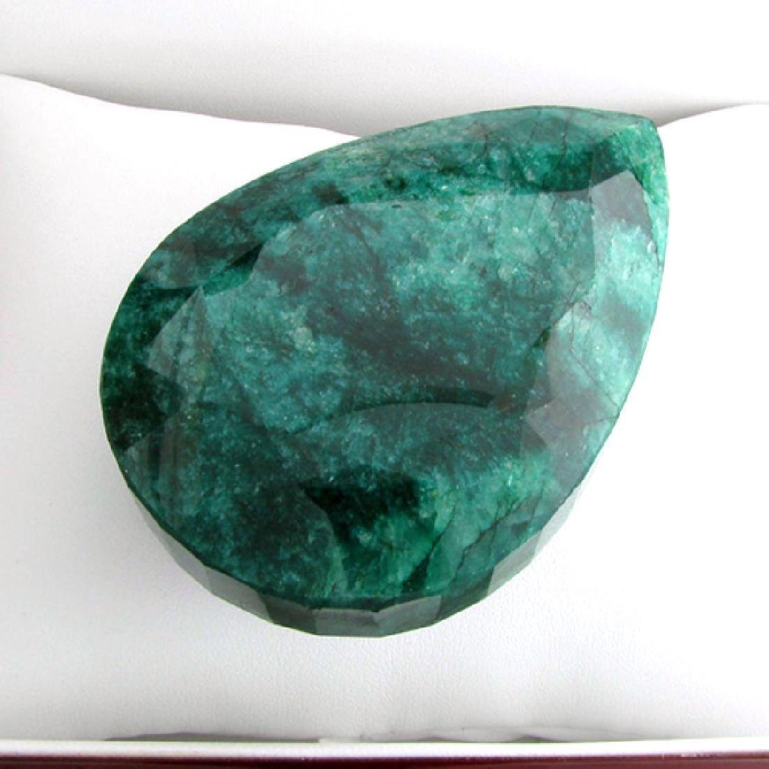 APP: 22.2k 852.90CT Pear Cut Emerald Gemstone