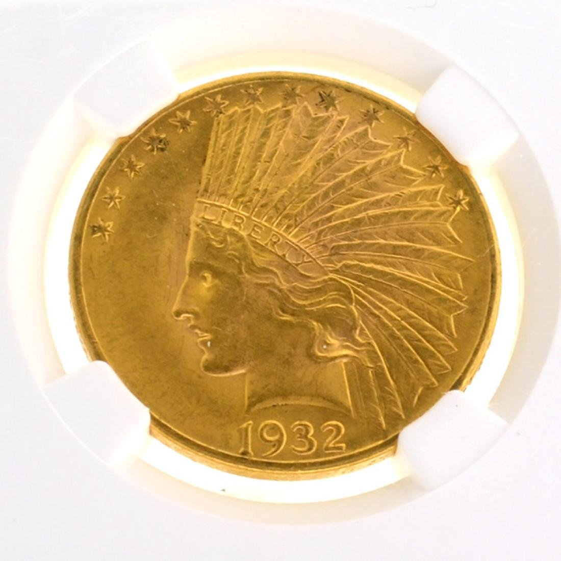 *1932 $10 U.S Indian Head Gold Coin