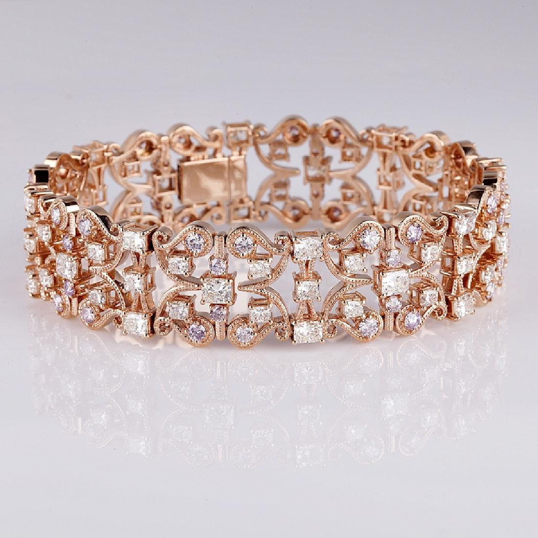 APP: 82.6k *Fine Jewelry 18 kt.Rose Gold, And 16.36CT
