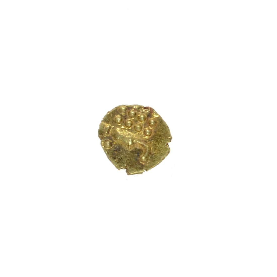 Rare India Gold Fangn Circa 1700's - 1800's Coin - 2