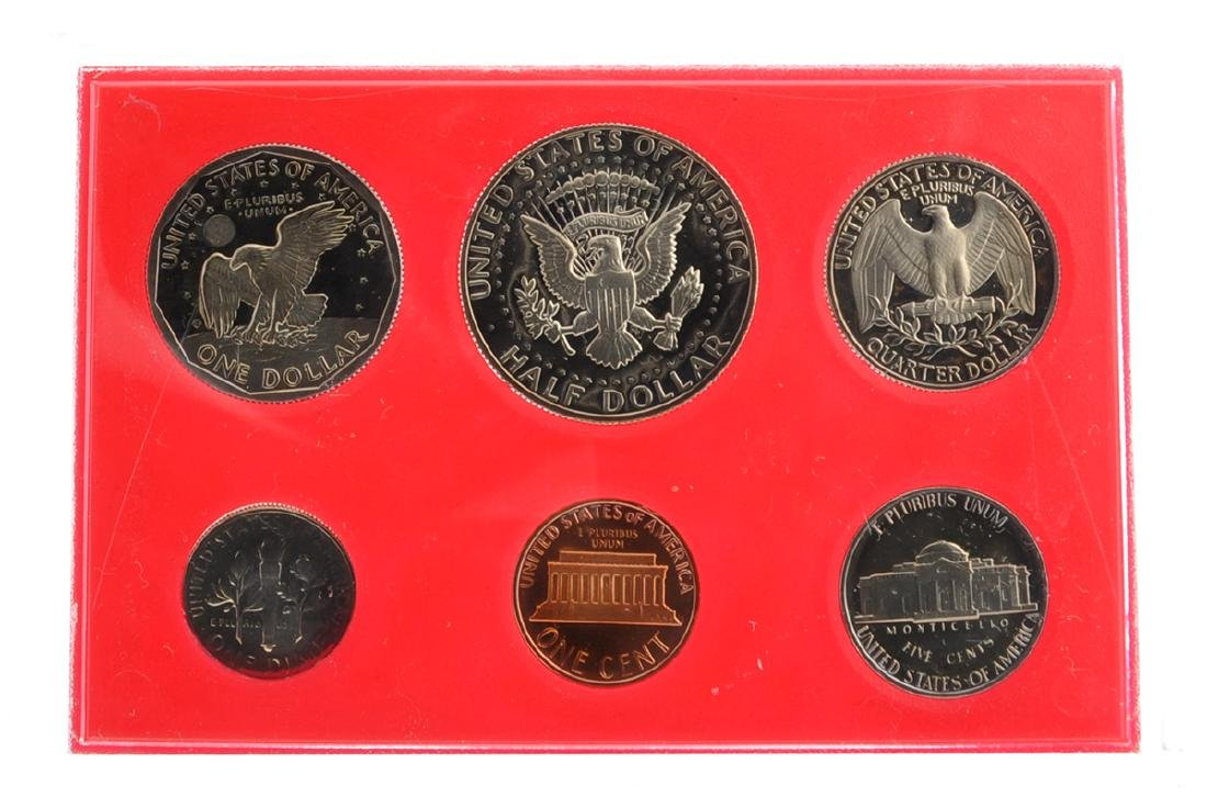1980 United States Proof Set Coin - 2