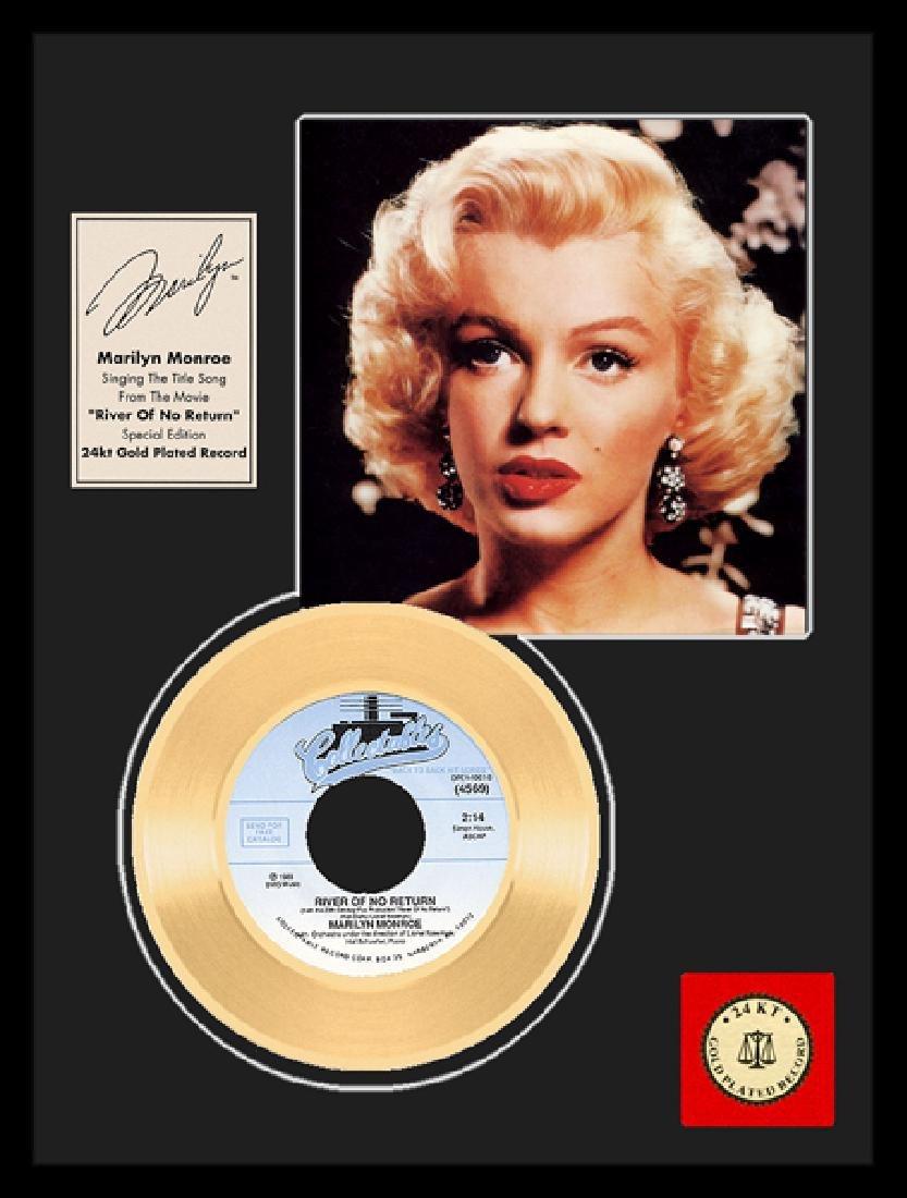 MARILYN MONROE ''River of No Return'' Gold Record