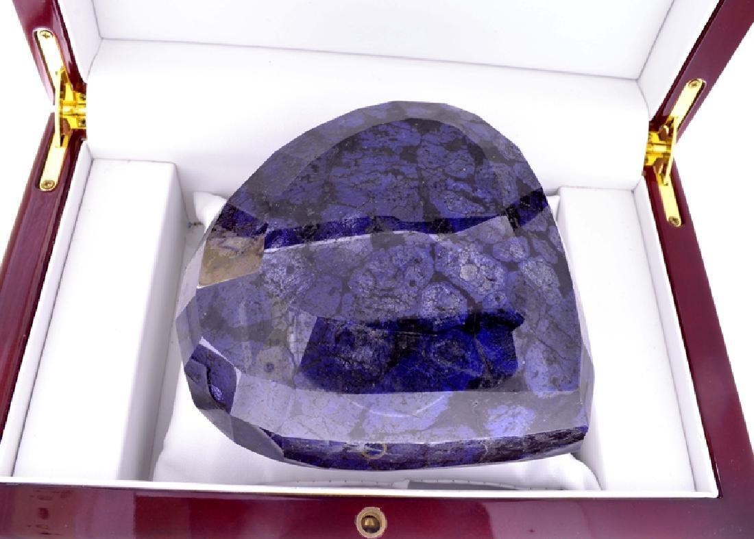 APP: 16.5k 5,466.50CT Pear Cut Blue Sapphire Gemstone - 2