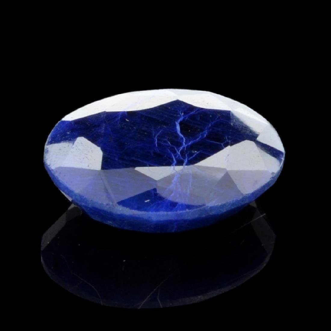 APP: 1.4k 29.42CT Oval Cut Blue Sapphire Gemstone