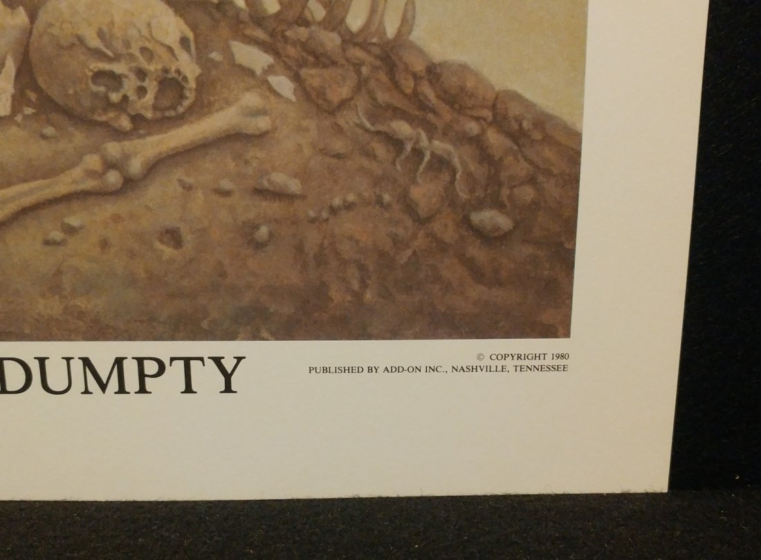 Werner Wildner Humpty Dumpty Signed Numbered Print - 3