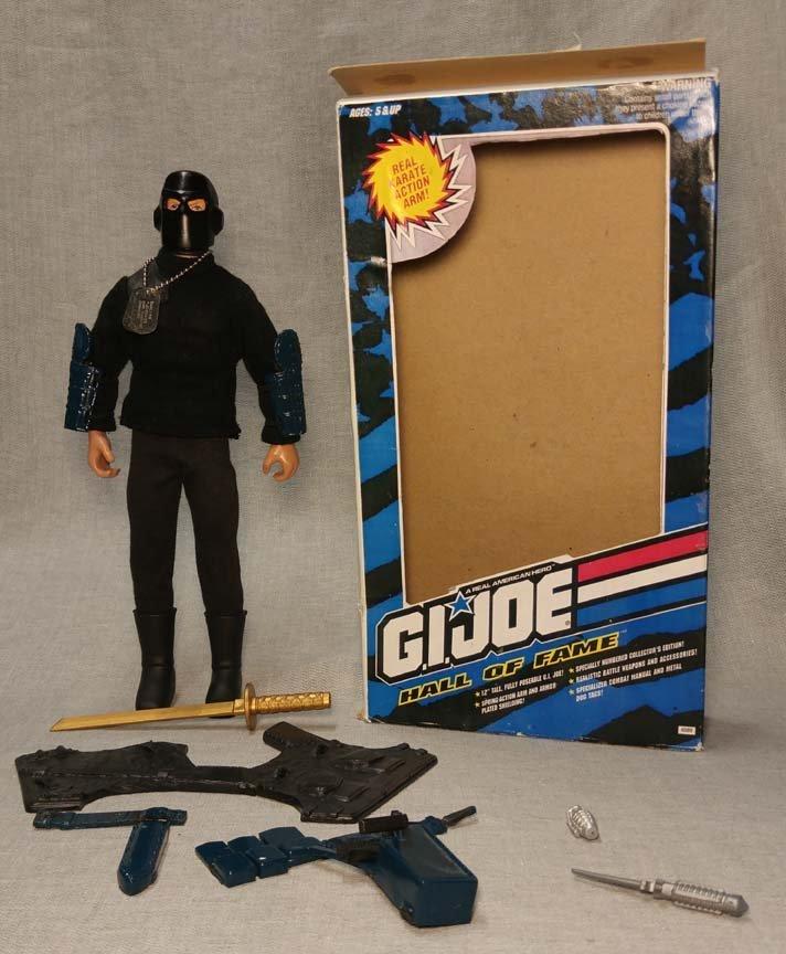 GI Joe Hall of Fame SNAKE EYES Toy Fair Prototype