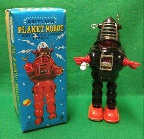 Planet Robot KO Yoshia Japan 1960s With Box Robby Robot