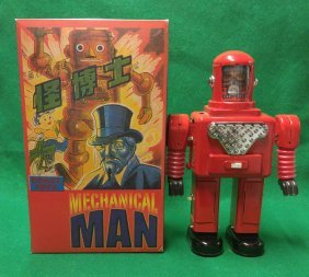 Astro Space Man Robot With Original Box