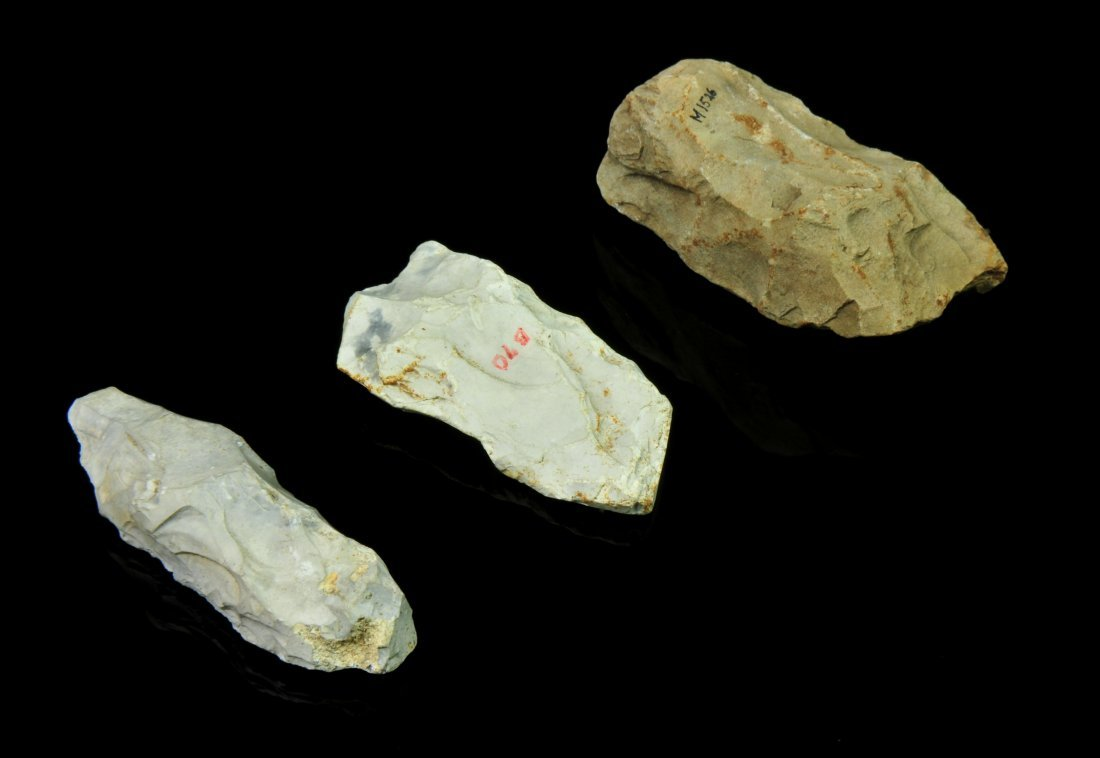 A LOT OF EUROPEAN MESOLITHIC AXES, 7000 – 500 BC