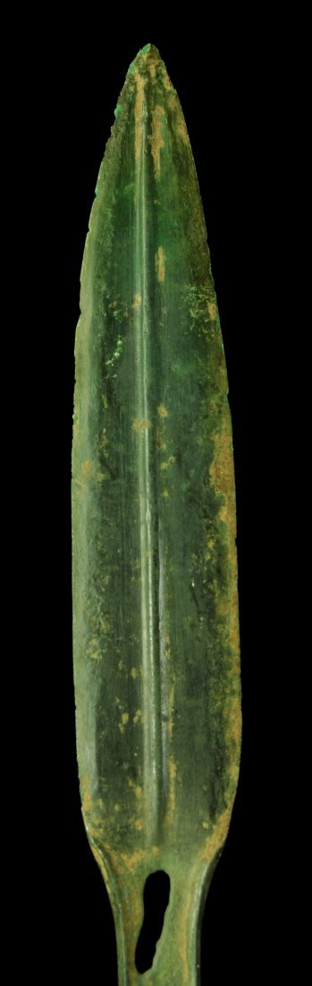 AN EUROPEAN URNFIELD BRONZE DAGGER, 11TH-10TH C. BC