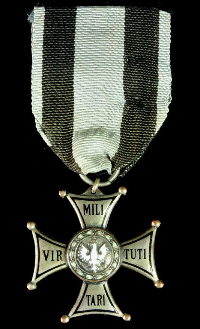 A POLISH ORDER VIRTUTI MILITARI, POLAND 1918-1939