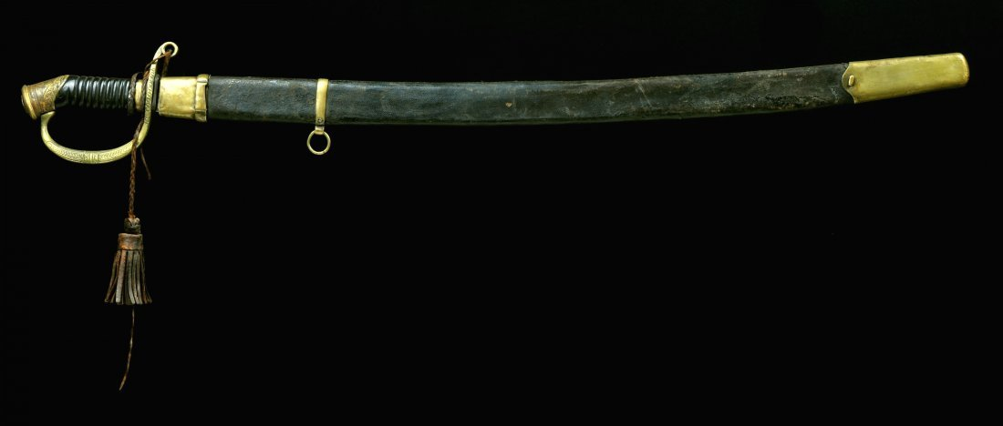 RUSSIAN DRAGOON OFFICER'S AWARD SHASHKA SWORD M1881/190