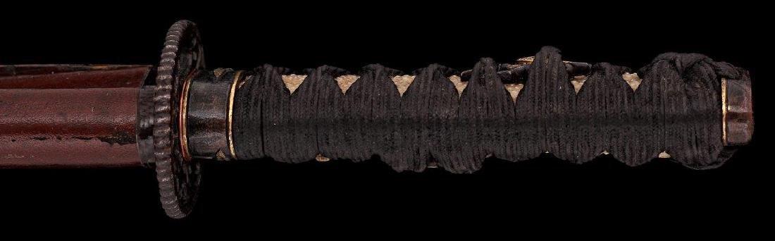 A JAPANESE YOSHIMICHI WAKIZASHI SWORD, CIRCA 1800 - 6