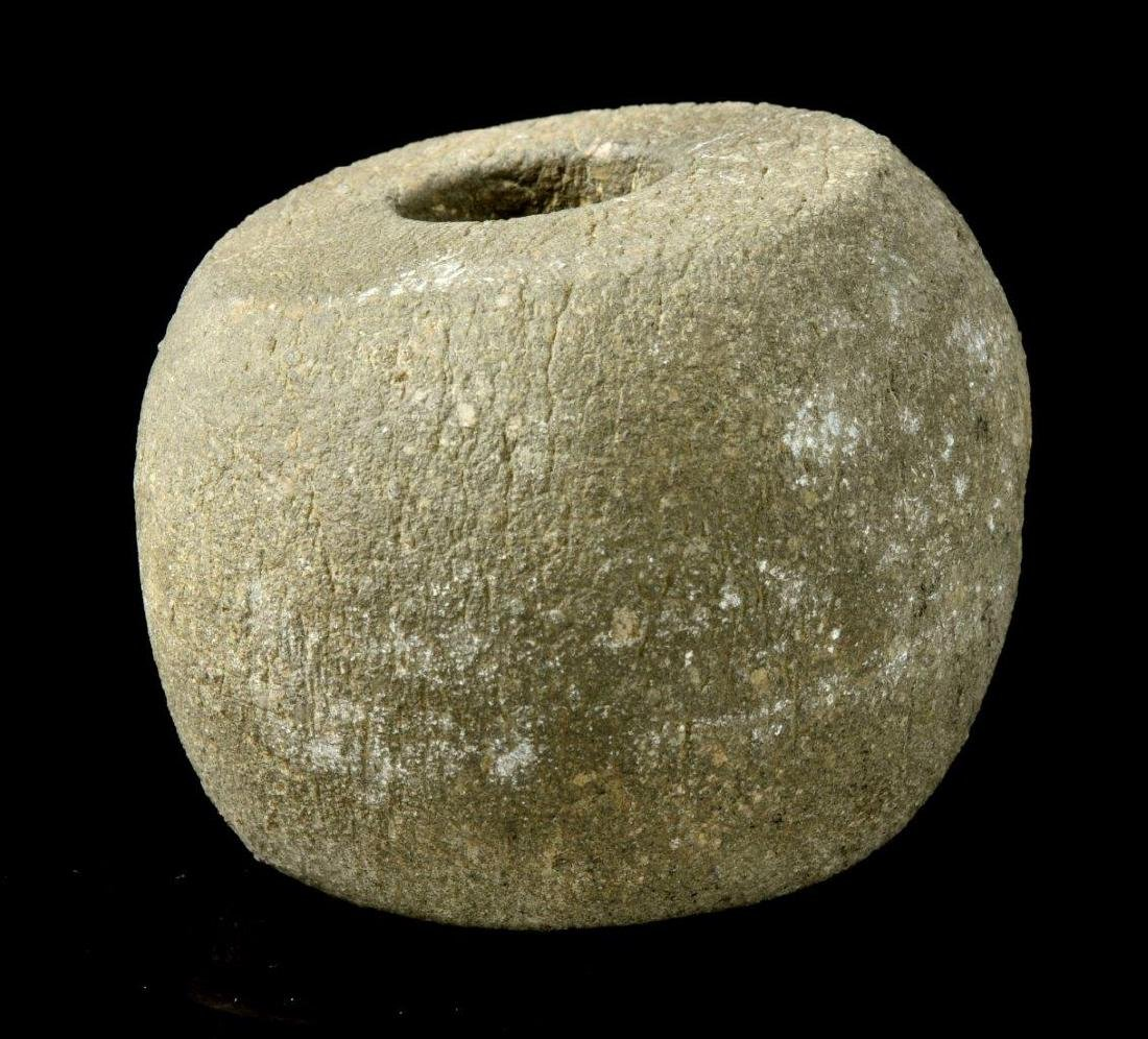 A NEOLITHIC STONE MACE, 2ND MILLENNIUM B.C. - 3