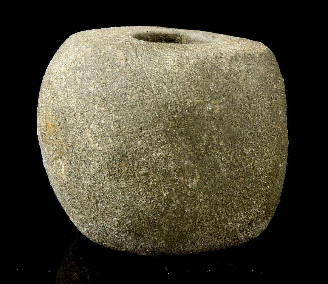 A NEOLITHIC STONE MACE, 2ND MILLENNIUM B.C. - 4