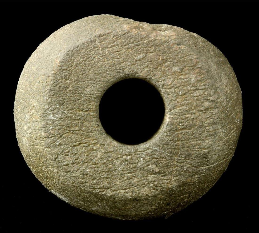 A NEOLITHIC STONE MACE, 2ND MILLENNIUM B.C. - 7