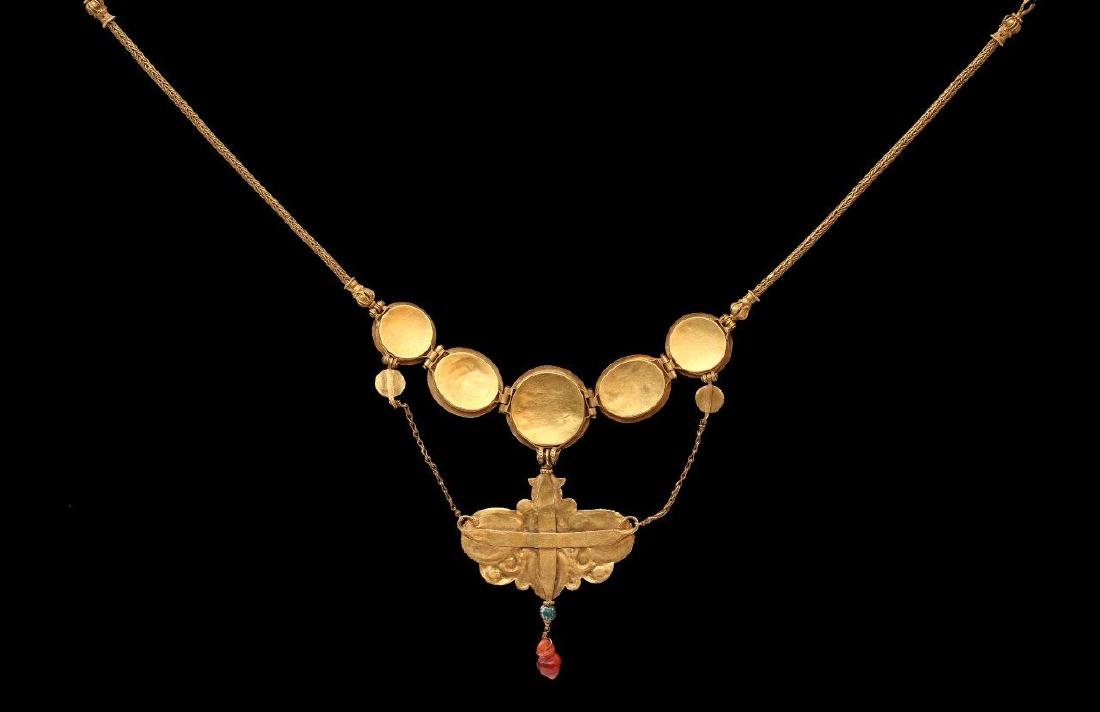 A GREEK GOLDEN NECKLACE, 6TH-4TH CENTURY B.C. - 9