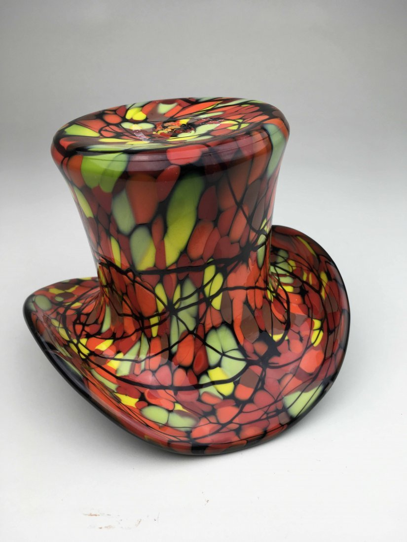 Fenton Black Lined Top Hat