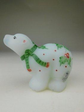 Fenton Christmas Bear
