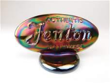 Fenton Carnival Glass Hood Ornament