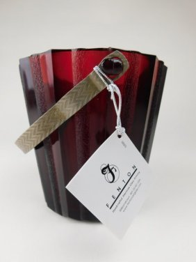 Fenton Ruby Ice Bucket