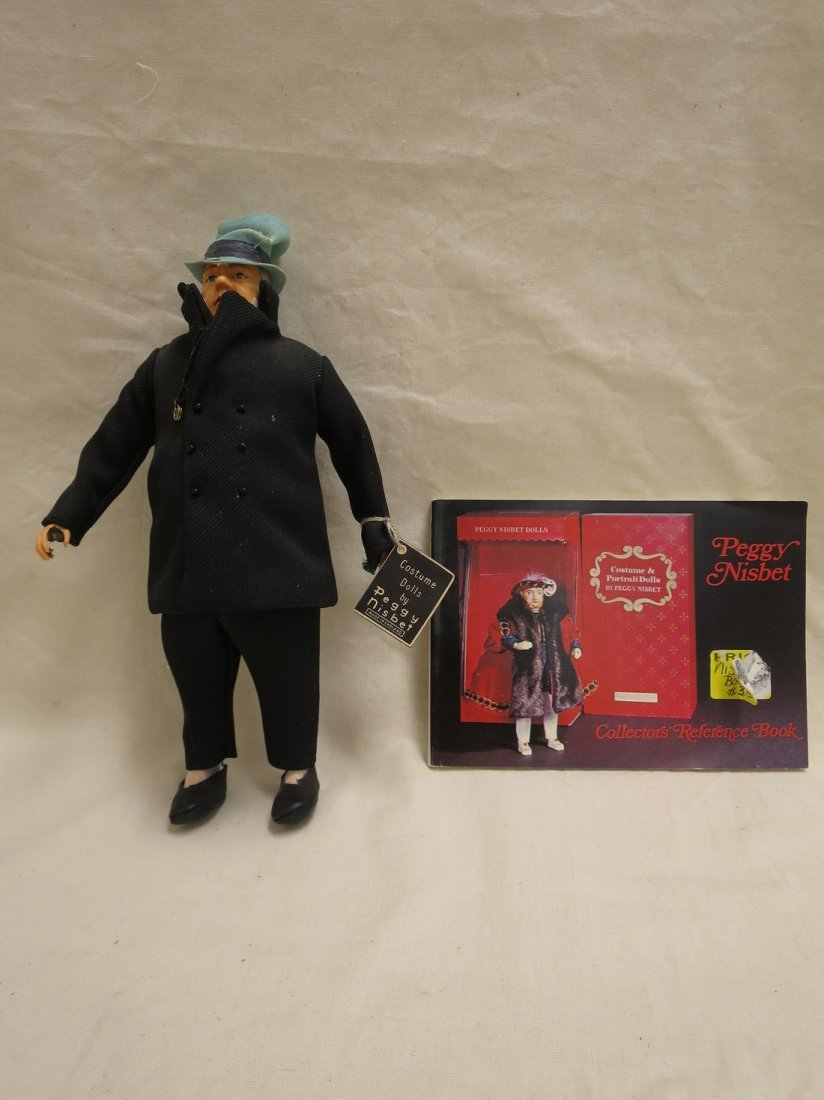 Peggy Nisbet W.C. Fields collectors doll.