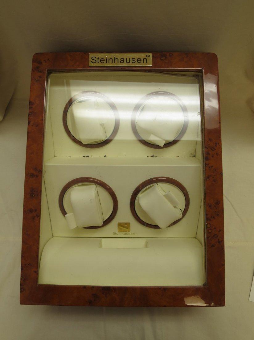 Steinhausen automatic watch winder.