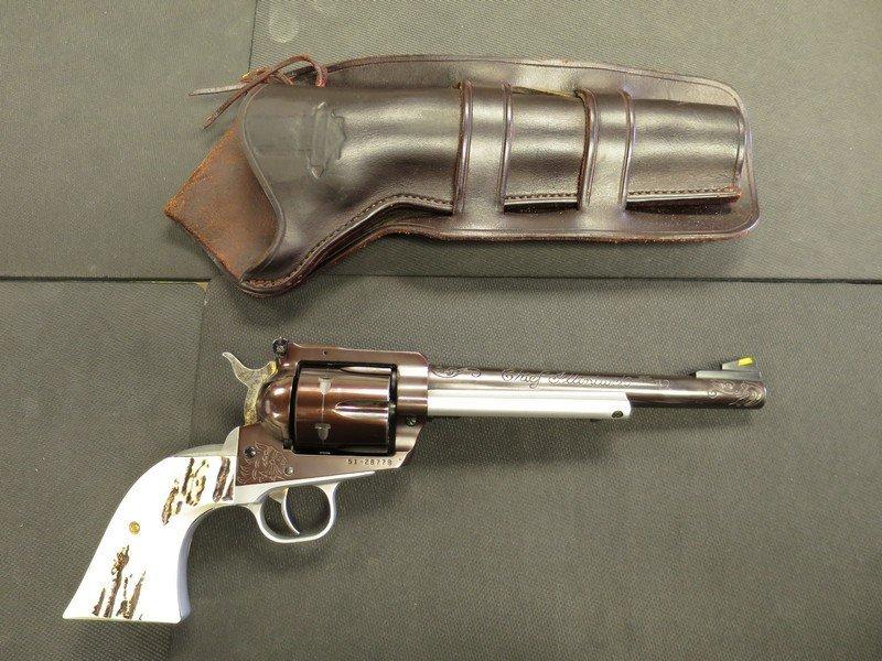 Ruger new model Blackhawk 30 cal revolver SN. 51-28778.