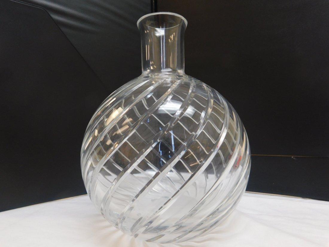 1 total, Baccarat Sprial Vase