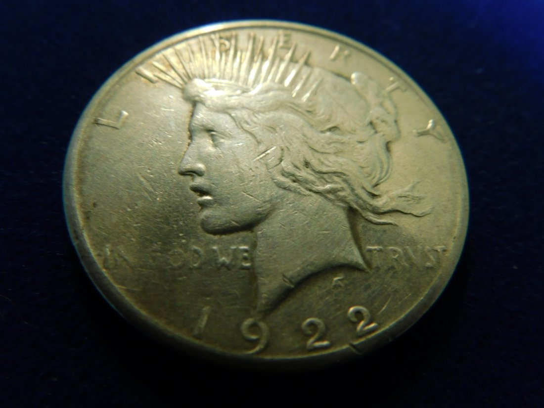 1 Silver Coin,1 Once Silver,1922