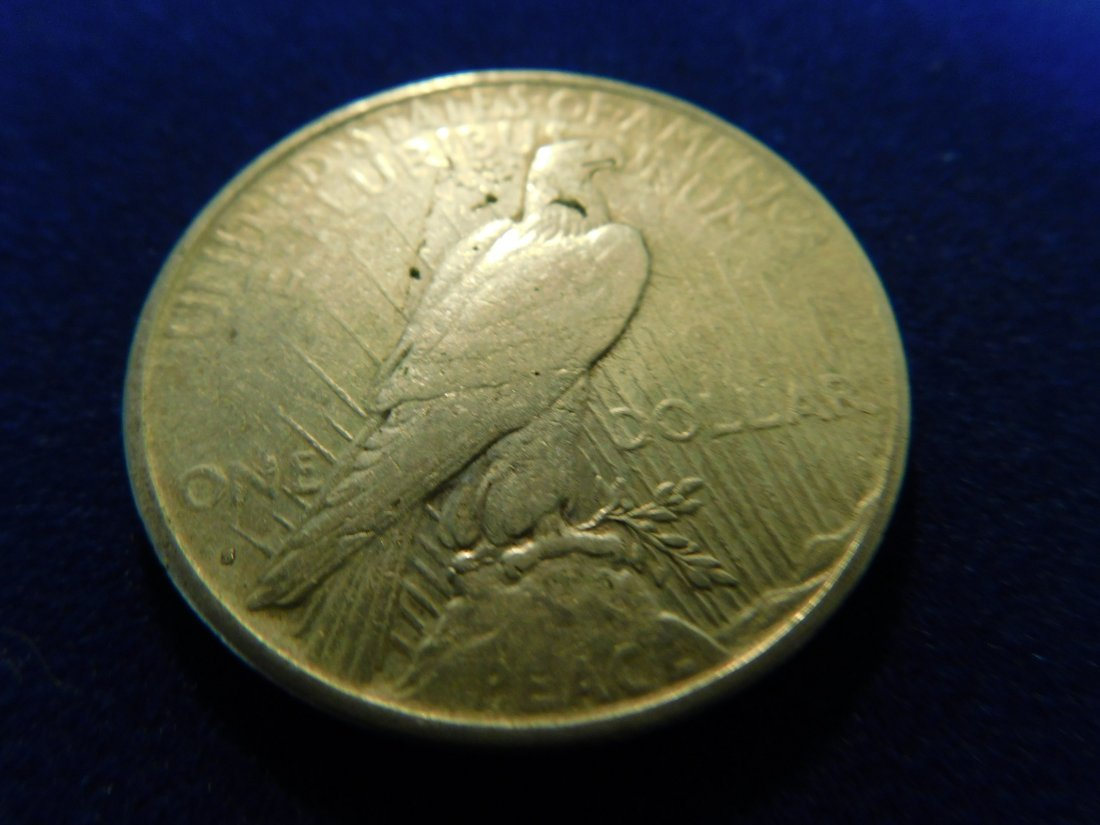 1 Silver Coin,1 Once Silver,1922 - 2