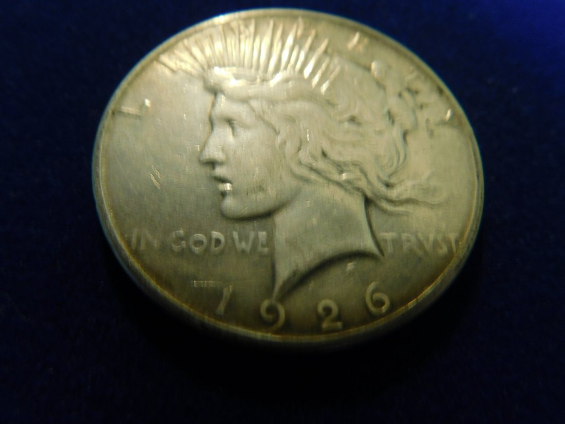1 Siver Coin, 1 Once Silver,1926