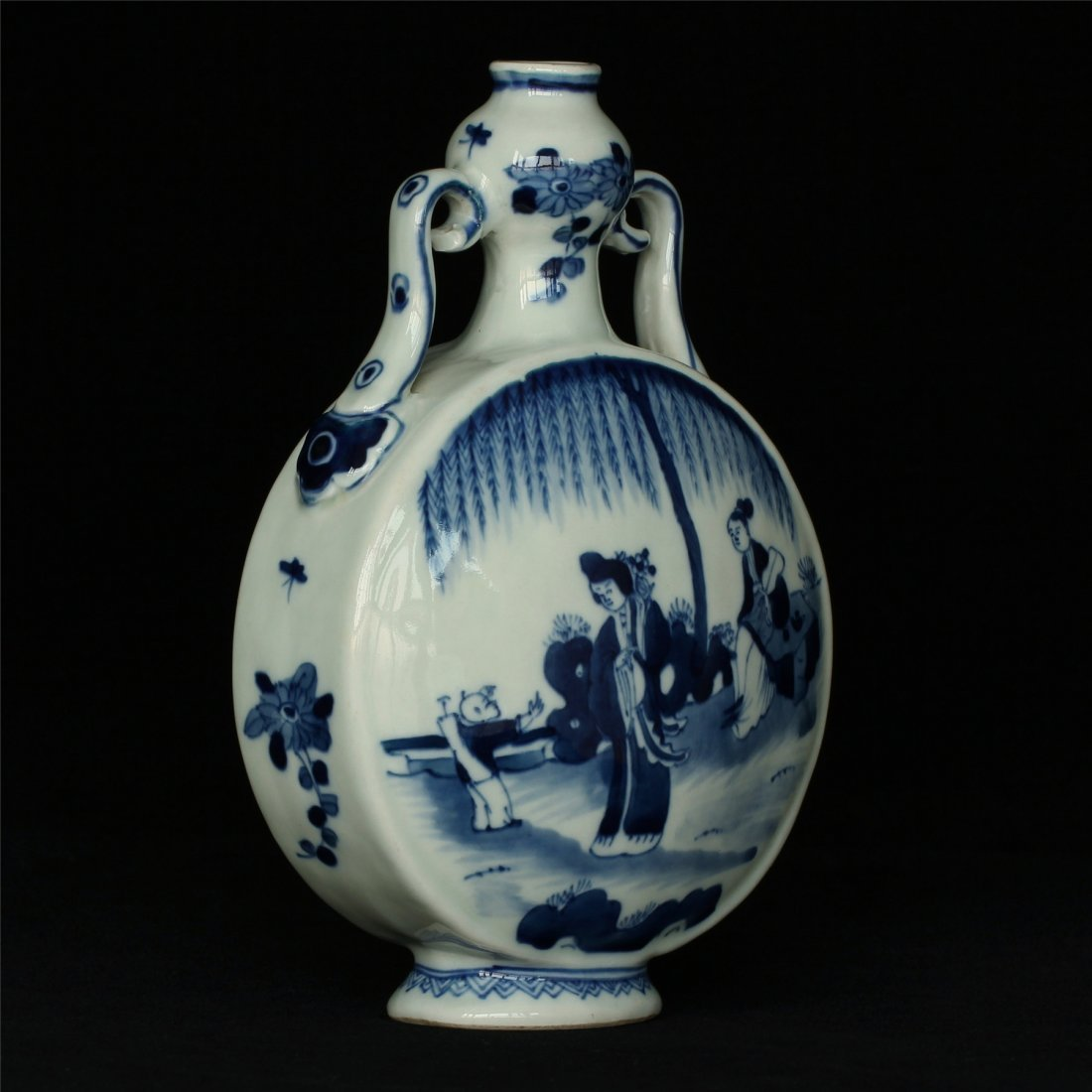 Blue and white porcelain vase of Qing Dynasty KangXi - 3
