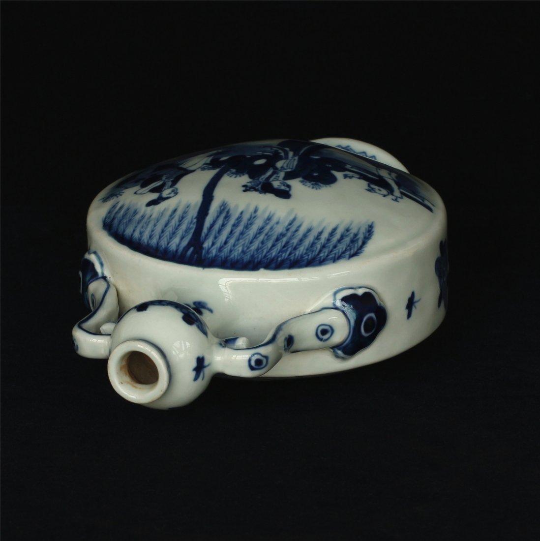Blue and white porcelain vase of Qing Dynasty KangXi - 6