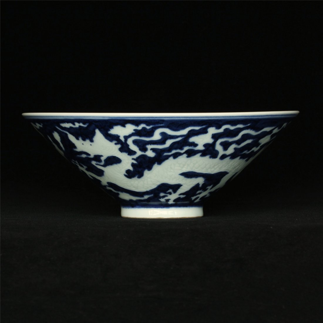 Blue and white & underglaze red porcelain bowl of Ming - 10