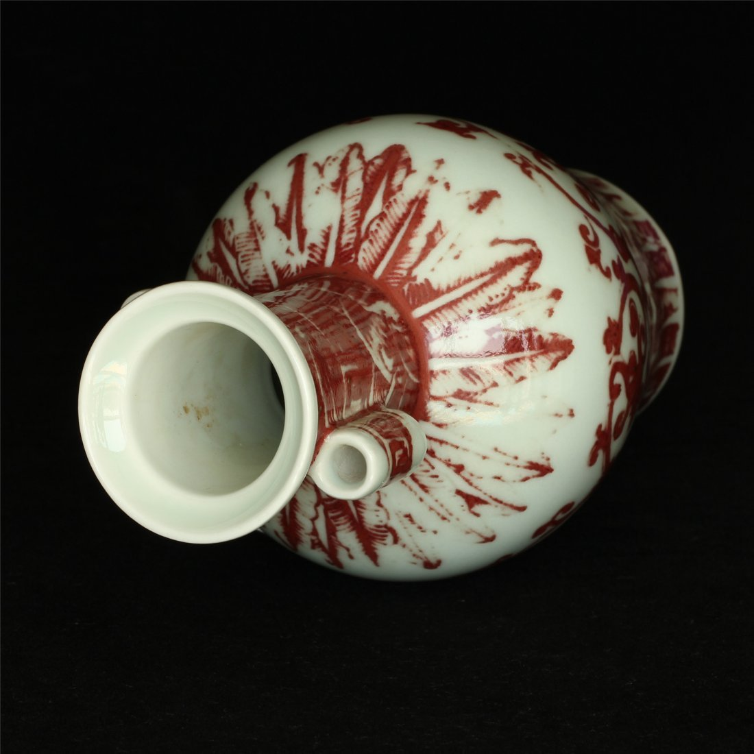 Underglaze red porcelain vase of Qing Dynasty QianLong - 5