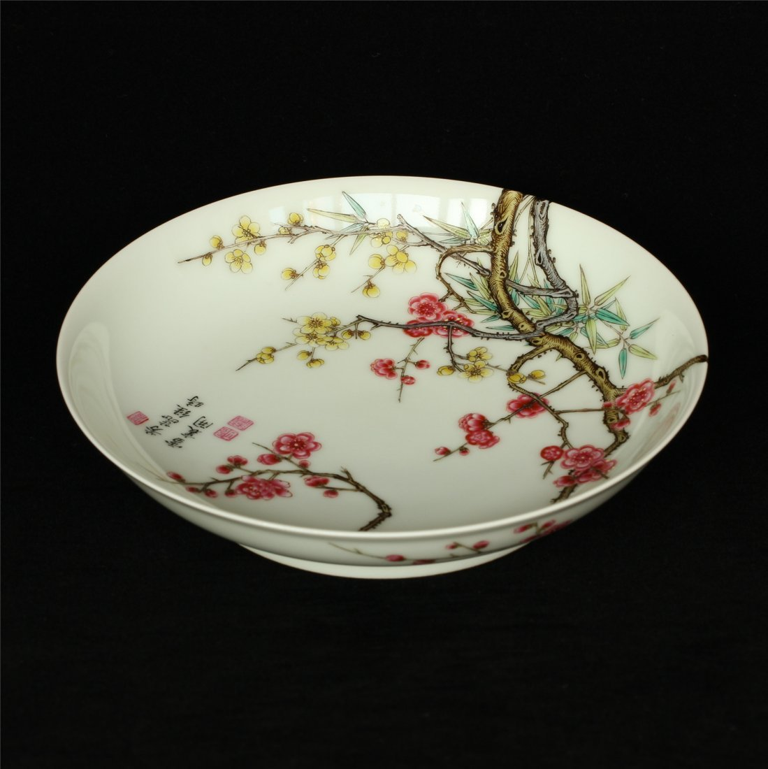 Famille rose porcelain plate of Qing Dynasty YongZheng - 10