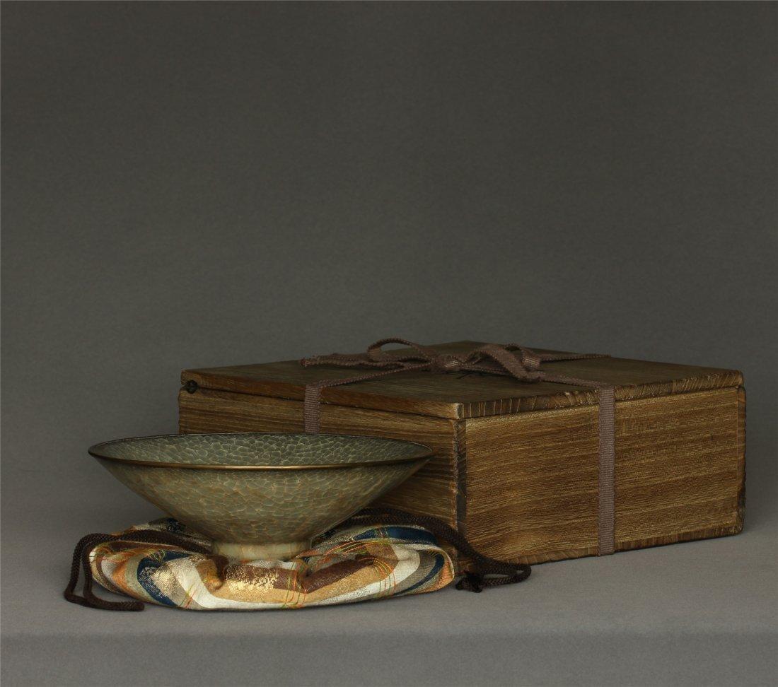 A LongQuan-Kiln Bowl Southern Song Dynasty.