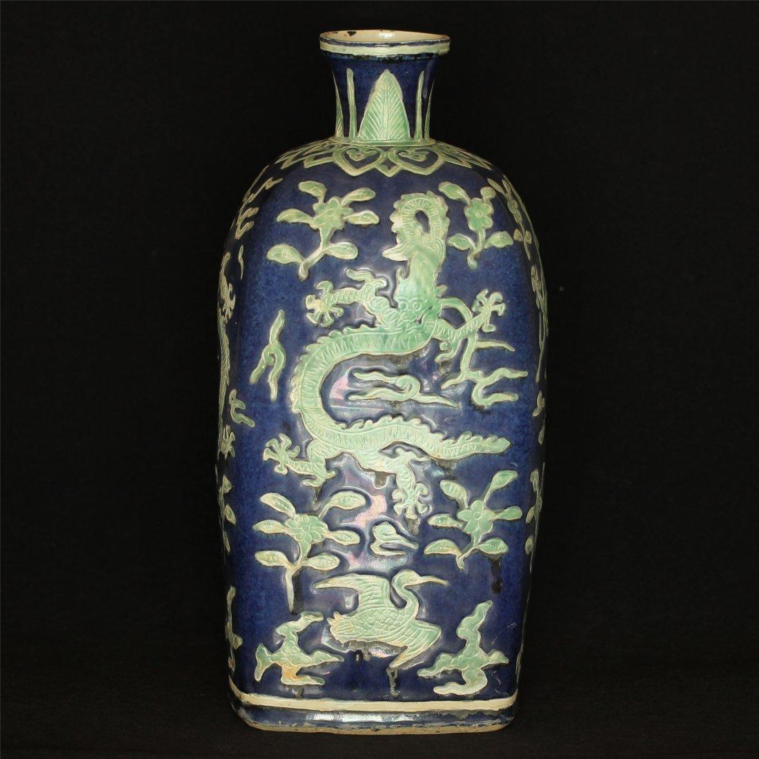 Color porcelain Vase of Ming Dynasty WanLi mark .