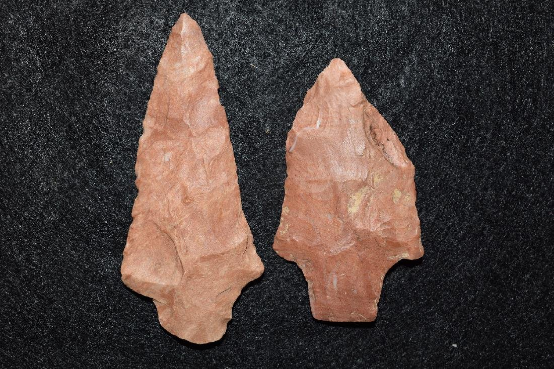 2 colorful points from Mississippi, longest 3.1/8