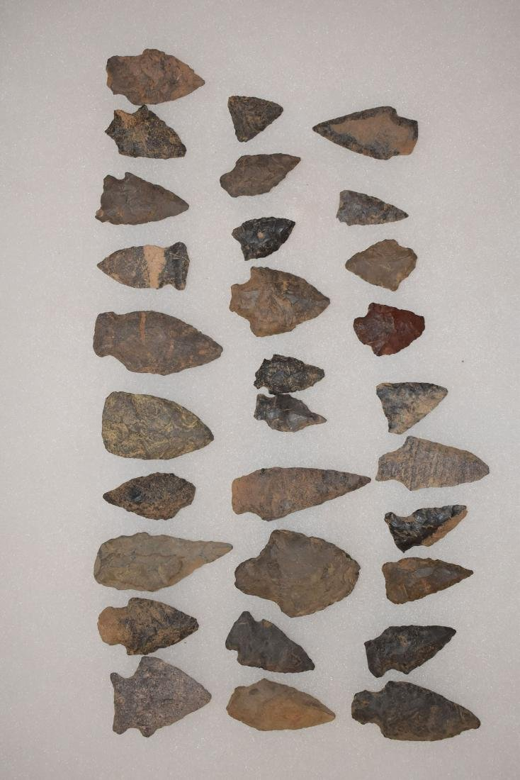 Nice lot of 25 New England Points, Longest 2.1/4 inches