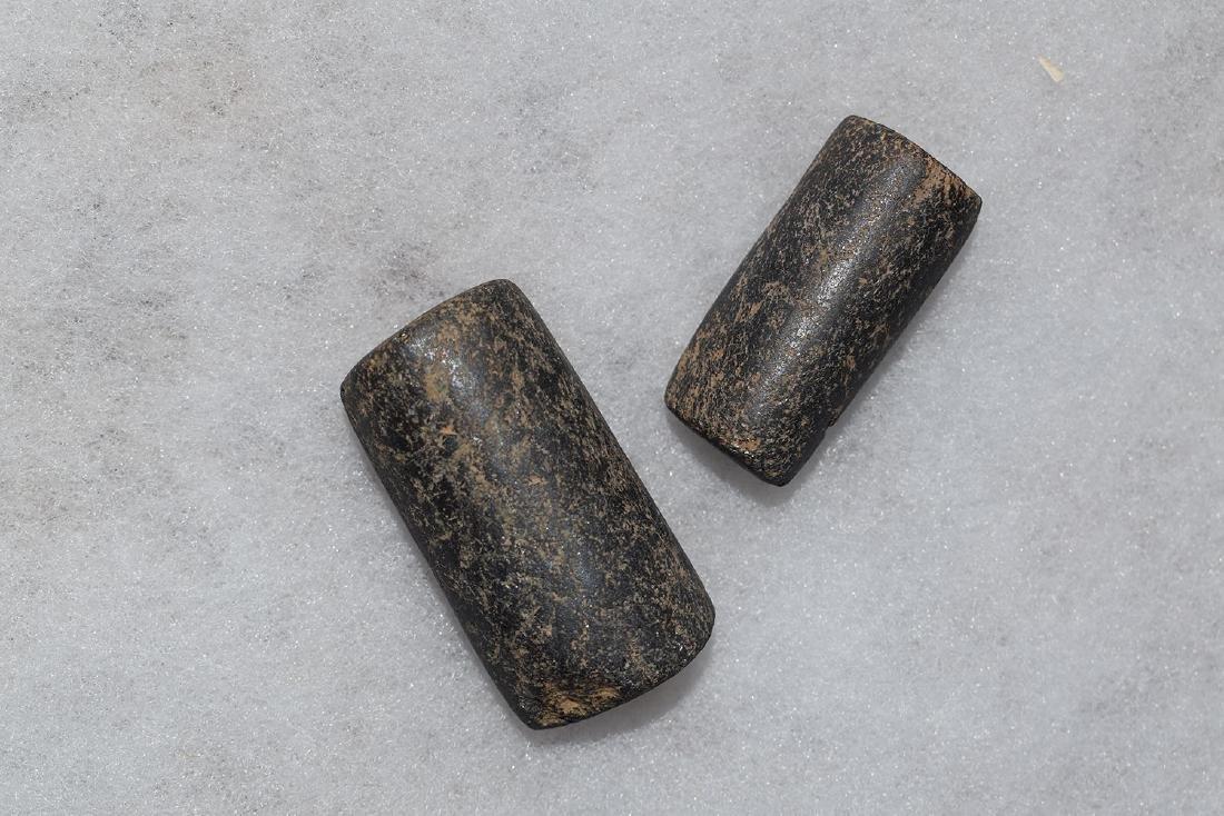 VERY LARGE Pre-Columbian Hematite beads